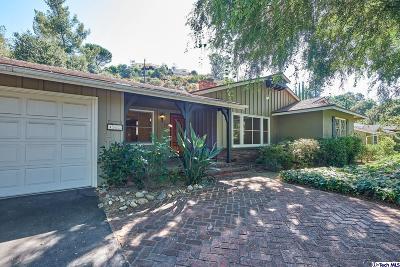 La Canada Flintridge Single Family Home For Sale: 463 Paulette Place