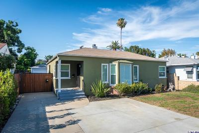 Sherman Oaks Single Family Home For Sale: 14429 Hatteras Street