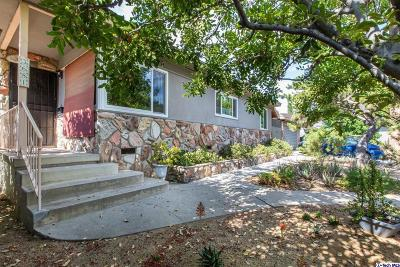 Glendale Single Family Home Active Under Contract: 3681 Urquidez Avenue