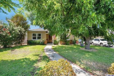 Glendale Single Family Home For Sale: 1330 Truitt Street