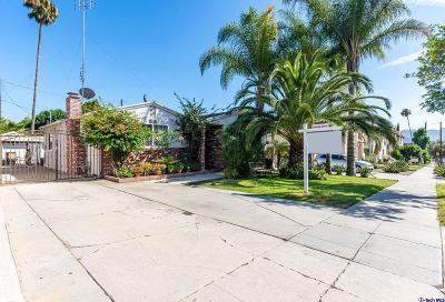 Glendale Single Family Home For Sale: 1172 Justin Avenue