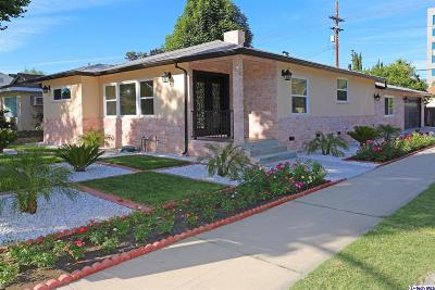 Burbank Single Family Home For Sale: 200 North Frederic Street
