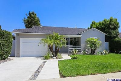 Culver City Single Family Home For Sale: 4636 Sanford Dr. Drive