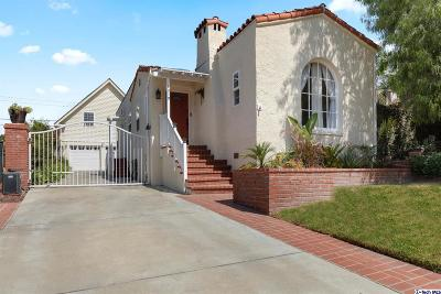 Burbank Single Family Home For Sale: 1019 East San Jose Avenue