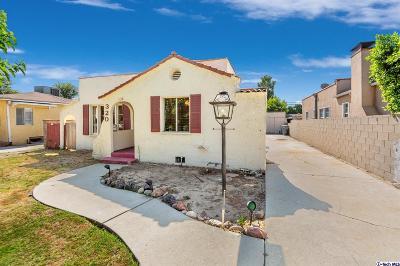 Glendale Single Family Home For Sale: 320 Allen Avenue
