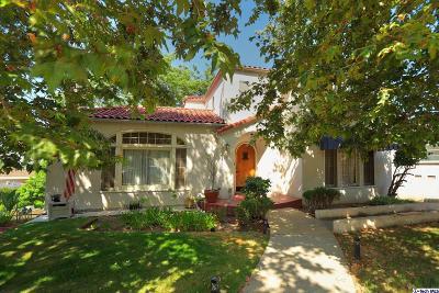 Glendale Single Family Home For Auction: 515 La Loma Road