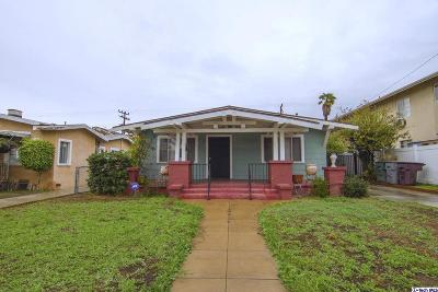 Glendale Single Family Home Active Under Contract: 421 Salem Street