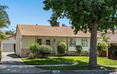 Burbank Single Family Home For Sale: 3018 North Naomi Street