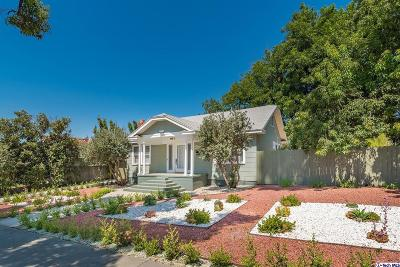Glendale Single Family Home For Sale: 1235 Winchester Avenue