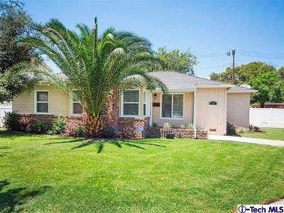 Burbank Single Family Home For Sale: 1301 West Riverside Drive
