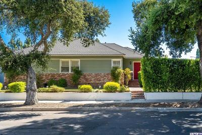Burbank Single Family Home For Sale: 1100 North Fairview Street