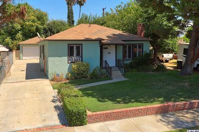 San Fernando Single Family Home Active Under Contract: 2003 Phillippi Street