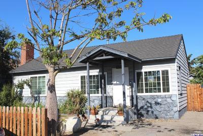 Burbank Single Family Home For Sale: 7624 Security Avenue