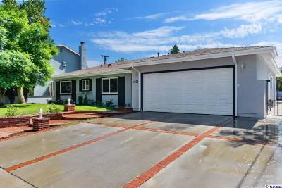 Sylmar Single Family Home Active Under Contract: 11308 Kamloops Street