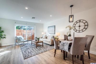 Los Angeles Condo/Townhouse For Sale: 5036 East Echo Street #6