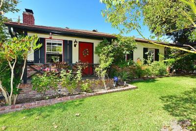 Glendale Single Family Home For Sale: 3001 North Verdugo Road