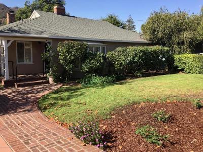 Glendale Rental For Rent: 3922 Altura Avenue