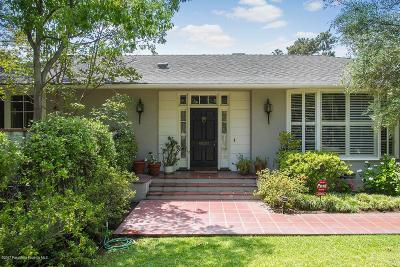 Pasadena Single Family Home For Sale: 1413 Wentworth Avenue
