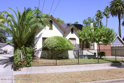 Pasadena Single Family Home For Sale: 1816 Lundy Avenue