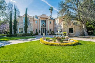 La Canada Flintridge Single Family Home For Sale: 4433 Gould Avenue