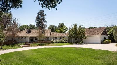 Pasadena Single Family Home For Sale: 3390 Lombardy Road