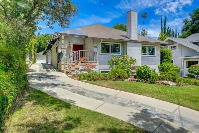 Pasadena Single Family Home For Sale: 632 South Grand Avenue