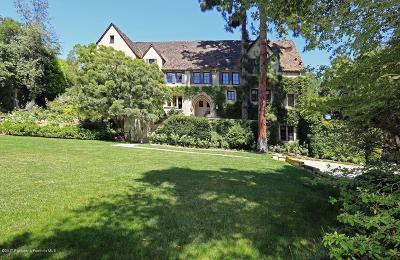 Pasadena Single Family Home For Sale: 282 South San Rafael Avenue