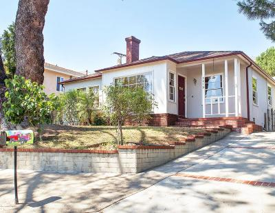 Glendale Single Family Home For Sale: 3219 Henrietta Avenue