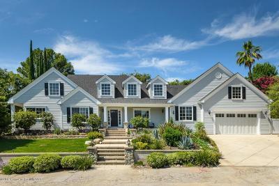 La Canada Flintridge Single Family Home For Sale: 1925 Lombardy Drive