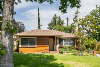 La Canada Flintridge Single Family Home For Sale: 4612 Viro Road