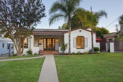 Pasadena Single Family Home For Sale: 1940 Garfias Drive
