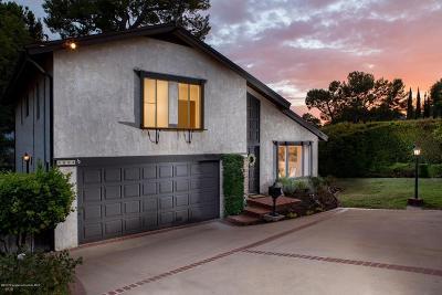 La Canada Flintridge Single Family Home For Sale: 4853 Ocean View Boulevard