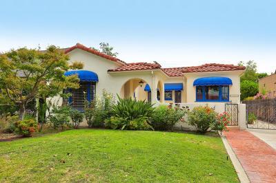 Glendale Single Family Home For Sale: 1000 North Howard Street