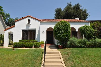 South Pasadena Single Family Home For Sale: 1814 Mission Street