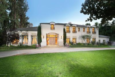 La Canada Flintridge Single Family Home For Sale: 5024 Hill Street