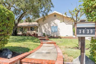 Glendale Single Family Home For Sale: 3439 Altura Avenue