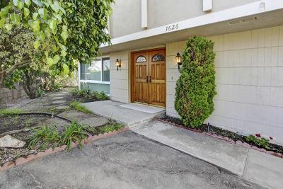 Glendale Single Family Home For Sale: 1626 Virden Drive
