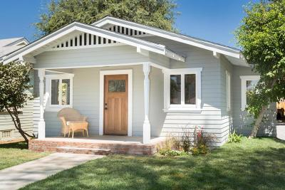 South Pasadena Single Family Home For Sale: 1030 Indiana Avenue