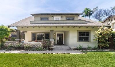Pasadena Single Family Home For Sale: 133 North Orange Grove Boulevard