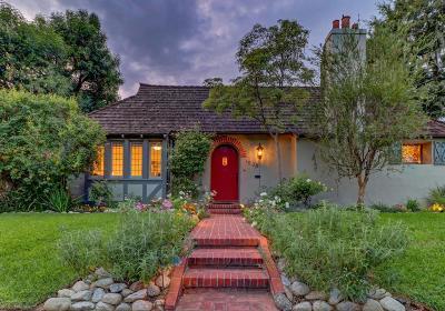 San Marino Single Family Home For Sale: 1539 Mirasol Drive