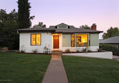 Pasadena Single Family Home For Sale: 528 Avon Avenue