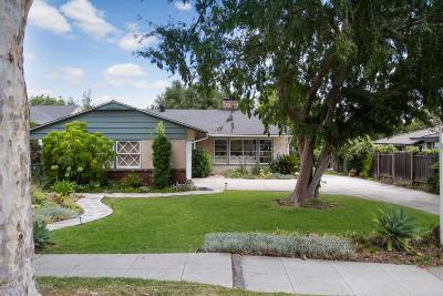 Pasadena Single Family Home For Sale: 470 Eaton Drive
