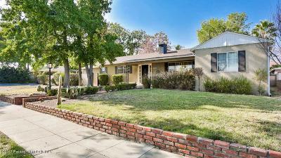 Pasadena Single Family Home For Sale: 2821 Paloma Street