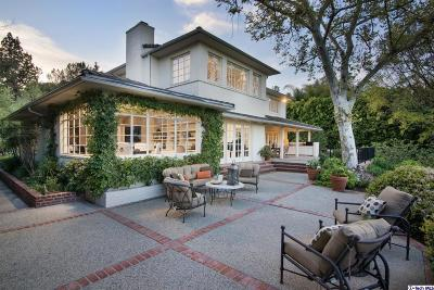 Pasadena Single Family Home For Sale: 320 North San Rafael Avenue