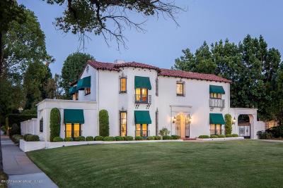 Pasadena Single Family Home For Sale: 700 South Orange Grove Boulevard