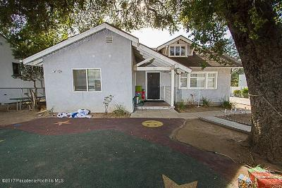 Los Angeles County Single Family Home For Sale: 70 West Palm Street