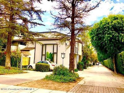 Arcadia Condo/Townhouse For Sale: 1002 West Huntington Drive #A