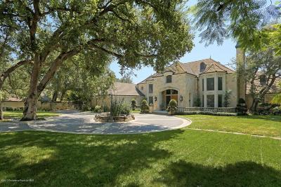 Arcadia Single Family Home For Sale: 210 West Orange Grove Avenue