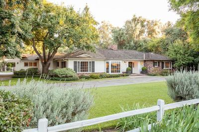 Pasadena Single Family Home For Sale: 3544 Lombardy Road