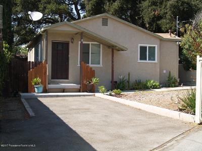 Glendale Single Family Home For Sale: 3501 Montrose Avenue
